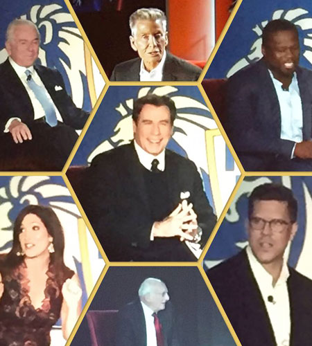 Orlando with John Travolta, 50 Cent and other celebs